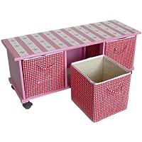 Artra Rollregal Prinzessin Trixi Sitzbank Aufbewahrungsbox Aufbewahrungskörbe Kindermöbel Rollregal Kinderregal preisvergleich bei kinderzimmerdekopreise.eu
