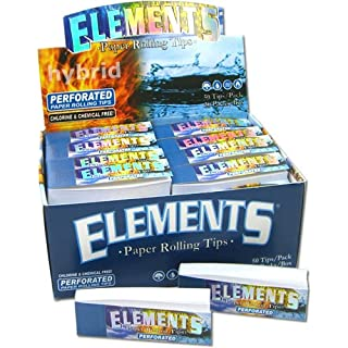 Elements Filtertips Tips perforiert (50x50)