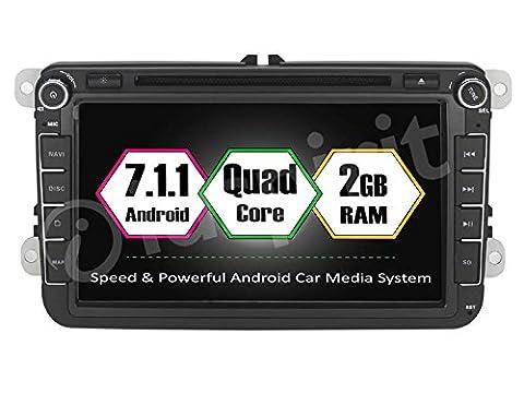 7.1Android GPS DVD Autoradio 2DIN GPS VW Golf 6/Golf