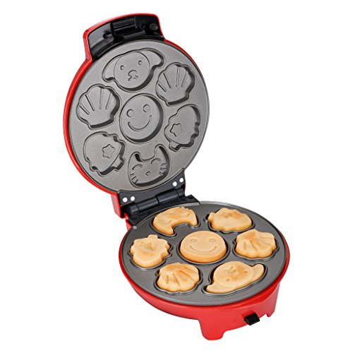 Finether snack maker 3 in 1 •Snack-Kombigerät• Donut-Maker •Snack Collection Platte•Cake Pop Maker für Waffeleisen Sandwichmaker Waffelautomat Donut 700 Watt