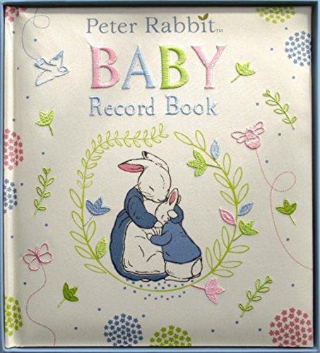 Peter Rabbit Baby Record Book por Beatrix Potter