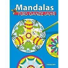 Mandalas fürs ganze Jahr. Malbuch ab 5 Jahren (Malbücher und -blöcke)