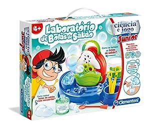 Clementoni - LABORATÓRIO DE BOLAS DE SABÃO (67589 - Versión Portuguesa)