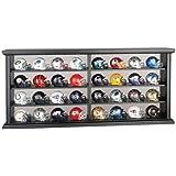 Riddell Pocket Pro - Juego de 32 cascos de la NFL (con expositor de madera)