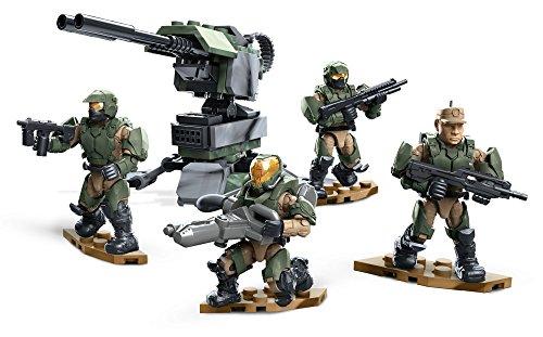 Mattel Mega Bloks - Halo DPJ88 Fireteam Yankee Squad Halo Mega Bloks Fireteam Crimson