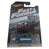 Hot Wheels '70 Ford Escort RS1600 FAST & FURIOUS 2017 on long card