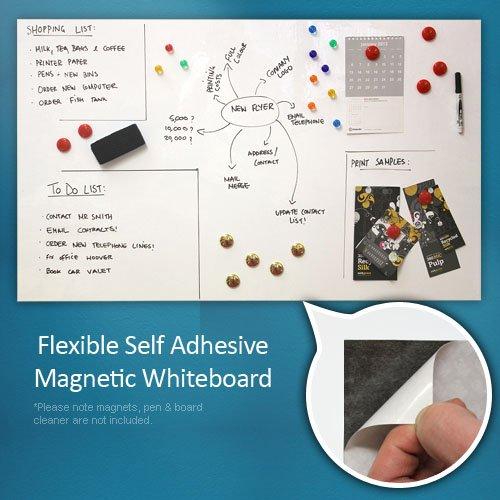 Magnet Experten f4mfwb-1Flexible Whiteboard, magnetisch, Tabelle für Home/Office