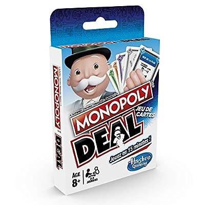 Monopoly - Jeu de societe Monopoly Deal - Jeu de Voyage - Version française