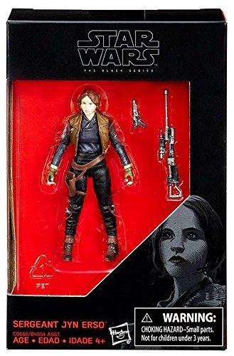 Preisvergleich Produktbild Star Wars Black Serie Sergeant Jyn Erso (Rogue One) exklusive Aktionfigur ca 9 cm