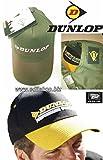 Pan World Brands Ltd Dunlop Cappellino con frontino. taglia unica regolabile (Nero/Giallo)