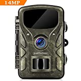 "EARTHTREE Wildlife Trail Camera 14MP 1080P Game Hunting Camera 2.4"" LCD with 940nm"