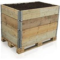 3x Palettenrahmen Aufsatzrahmen Fur Europaletten Hochbeet Gartenbeet