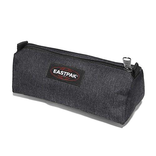 Eastpak Benchmark 6Rep - Astuccio, 20cm, colore: Black Denim