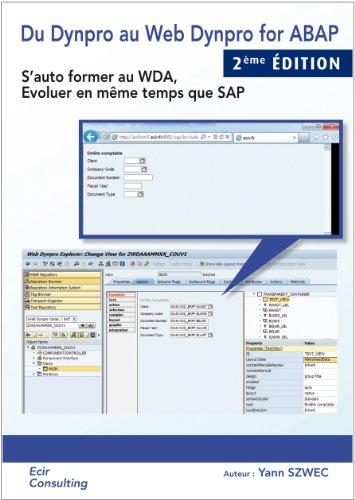 Du Dynpro au WEB DYNPRO en ABAP par Yann SZWEC