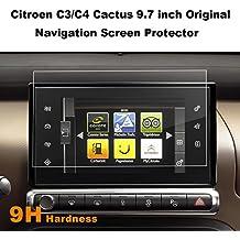 [2 piezas] Protector de pantalla para navegación de 9,7 pulgadas Citroen C3