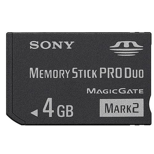Sony - Memory Stick ProDuo 4GB