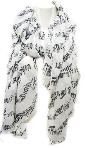 Écharpe de Musique - Piano Violon Mozart Classique Crotchet Tremblement écharpe