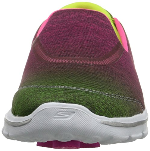 Skechers - GO WALK 3 - AURA, Scarpe sportive Donna Rosa (Pink (Pklm))
