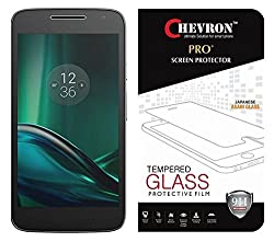 Chevron Moto G Play 4th gen (Motorola Moto G4 Play) Screen Protector, Premium Oil Resistant Coated Tempered Glass Screen Protector Film Guard for Moto G Play 4th gen (Motorola Moto G4 Play), Anti-explosion