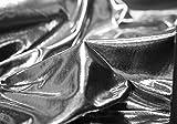 Decor Trader Silber Metallic Lame Stoff Verkauft Pro Meter