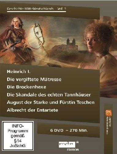 Die Geschichte Mitteldeutschlands, Vol. 3 [6 DVDs]