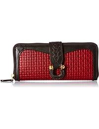 Hidesign Women's Wallet (Red Brown)