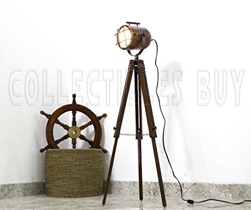 acabado-de-cobre-antiguo-de-la-lampara-tripode-portatil-de-decoracion-ligting-oficina-de-lamparas-de