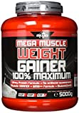 BWG Mega Muscle Weight Gainer 100% Maximum - perfekt für HardGainer und Massephasen - Kraftaufbau - Mega...