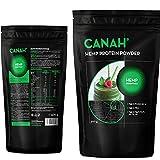 Canah's natuurlijke hennepproteïnepoeder, 500 gram - rijk aan proteïne, omega 3, aminozuren, mineralen, magnesium, fosfor, ijzer en zink - koud Verwerkte Vegaproteïne