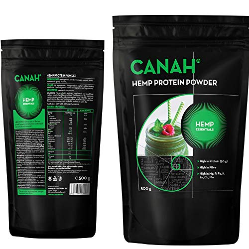 Hanfprotein Pulver by Canah (500 grams)