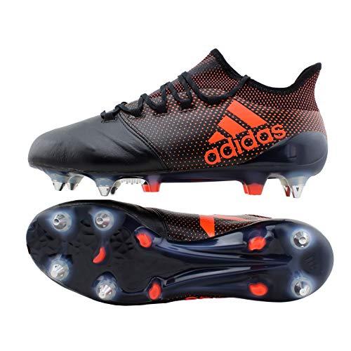 adidas X17.1 Leder SG schwarz/rot UK 10 // 44 2/3