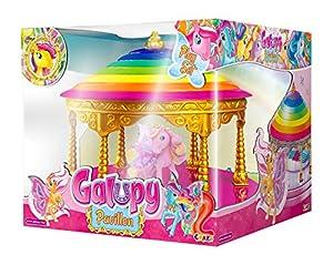 CRAZE- Pabellón GALUPY Play-Pony Gazebo con Figura de Caballo 14103