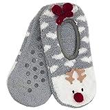 Foxbury -  Calze a pantofola  - Donna grigio Grey Taglia unica