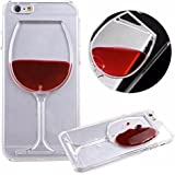 Cover For IPhone 6S+ Plus (By Cover Villa) Soft Wine Glass Tpu Cover For IPhone 6S+ Plus