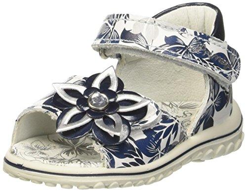 Primigi Psw 7554, Chaussures Marche Bébé Fille Bleu (B.co-blu)