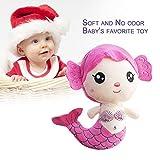 Ballylelly Juguetes de Peluche Regalo para bebés niños niñas niños Cute Sirena Preciosa muñeco de Peluche (Color: Rosa)