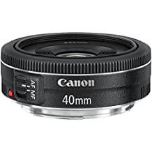 Canon EF 40mm f/2.8 STM - Objetivo para Canon (distancia focal fija 40.0mm, apertura f/2.8-22,diámetro: 68.2mm), Negro