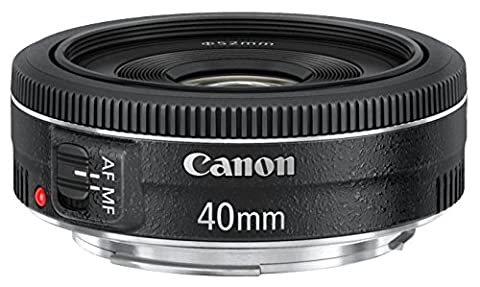 Canon Objectif EF Pancake 40 mm f/2.8 STM + Bouchon