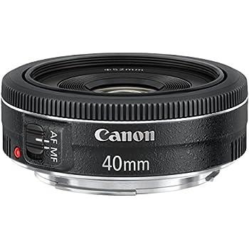 Canon EF 40mm 1:2,8 STM Objektiv (52mm Filtergewinde) schwarz