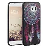 Asnlove Galaxy S6 Hülle, TPU Weich Handy Schutzhülle für Samsung Galaxy S6 Silikon Backcover Handytasche Traumfänger Tasche Schutz Ultra dünn Schale Bumper Cover (Traumfänger)