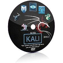 Kali Linux 2018.1 64 Bit Live Bootable Installation DVD Penetration Testing