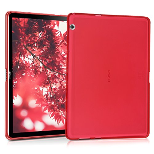 classico 73ee2 df062 kwmobile Huawei MediaPad T3 10 Cover - Custodia Tablet in Silicone TPU -  Copertina Protettiva Tab - Backcover Cover Huawei MediaPad T3 10