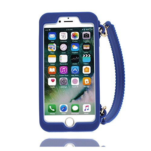 iPhone 8 Copertura,iPhone 8 Custodia,lische di pesce del fumetto 3D bella copertura molle della cassa del silicone di TPU della pelle protettiva della pelle Case Cover per iPhone 8 4.7 inch colour 3