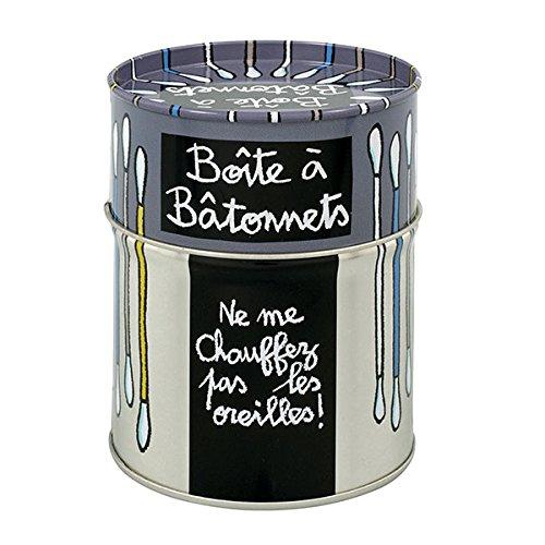 *Derriere la Porte Dose für Q-Tips Boite À Bâtonnets Ne Me Chauffez Pas*