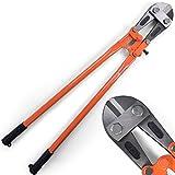 Timbertech - Cizalla para pernos de color naranja de 900 mm - aprox. 90/18/3,8 cm - logitudes 450 mm, 600 mm, 900 mm a elegir