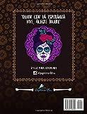 Image de Dia De Los Muertos: Libro De Colorear Para Adultos (Calaveras De Azucar)