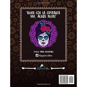 Dia De Los Muertos: Libro De Colorear Para Adultos (Calaveras De Azucar)
