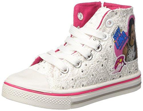 Soy Luna Niñas Canvas Hi zapatillas altas blanco Size: 31 EU