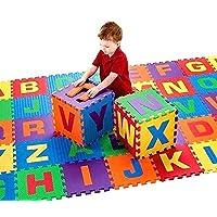 Trendi® 26pcs Soft EVA Foam Baby Children Kids Play Mat Alphabet Letters Puzzle Jigsaw 31cm x 31cm