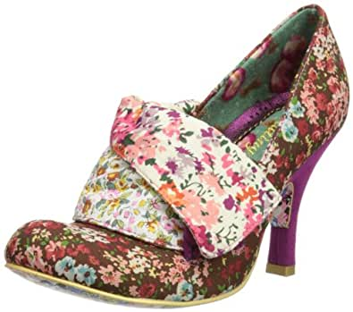 irregular choice flick flack escarpins femme rose pink multi 4 uk chaussures. Black Bedroom Furniture Sets. Home Design Ideas